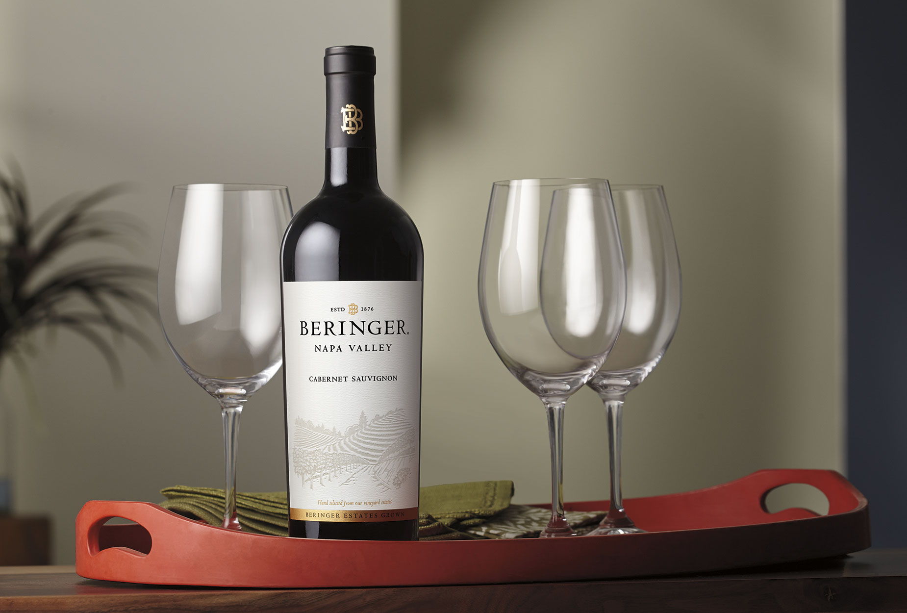 Beringer Napa Valley Cab | Wine Photographer, Marshall Gordon