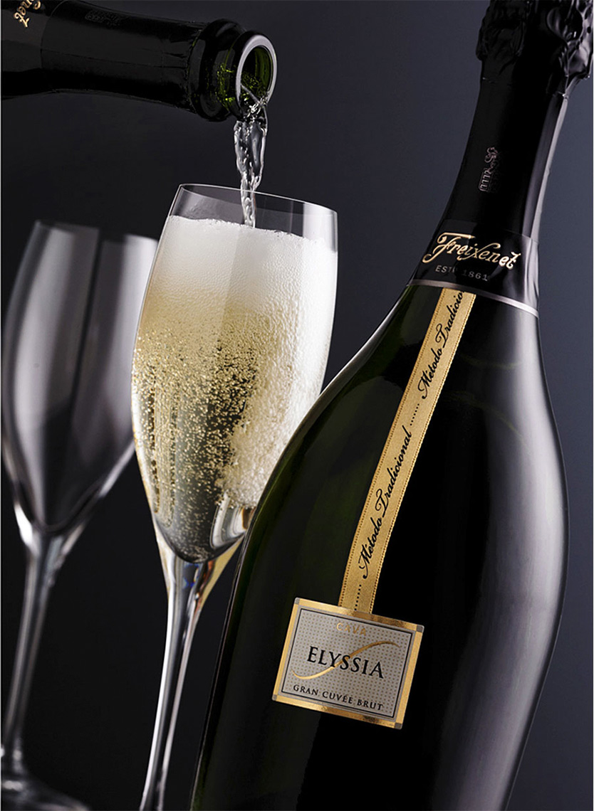 Freixenet Elyssia Pour | Wine Photographer, Marshall Gordon