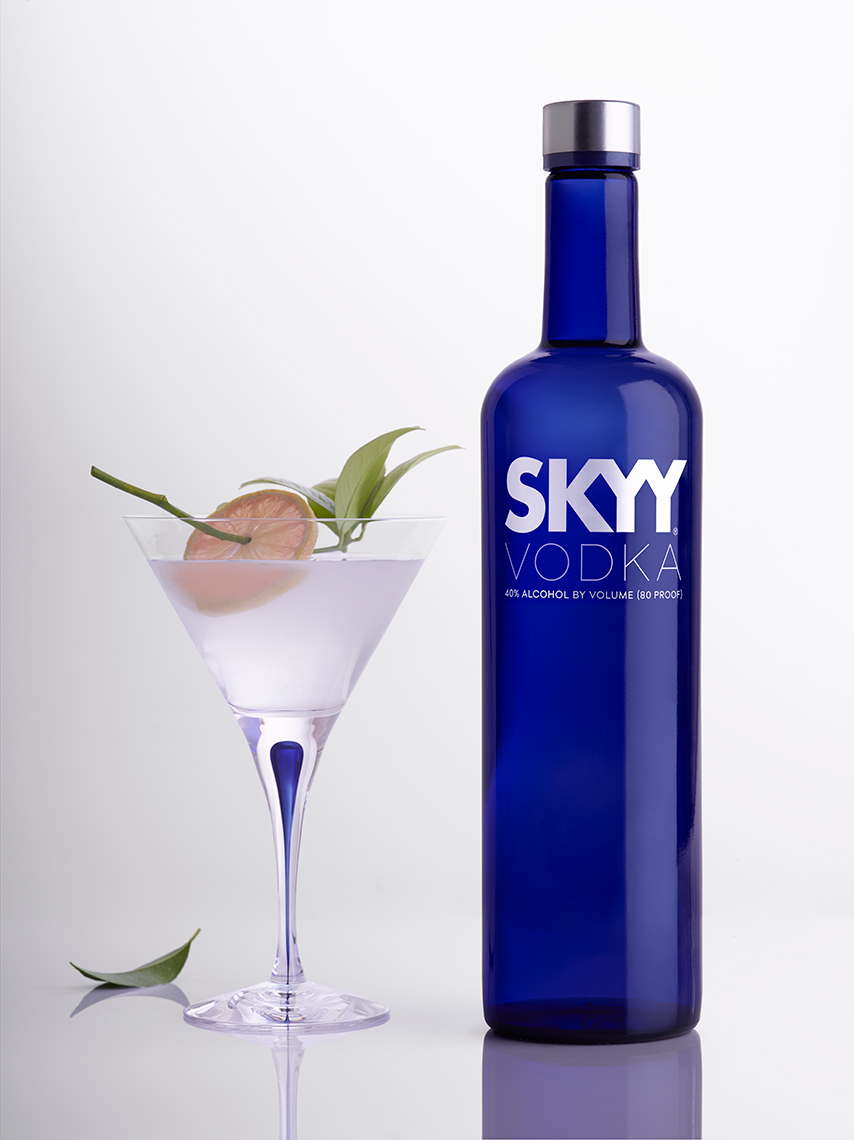 Skyy Vodka | Beverage Photographer, Marshall Gordon