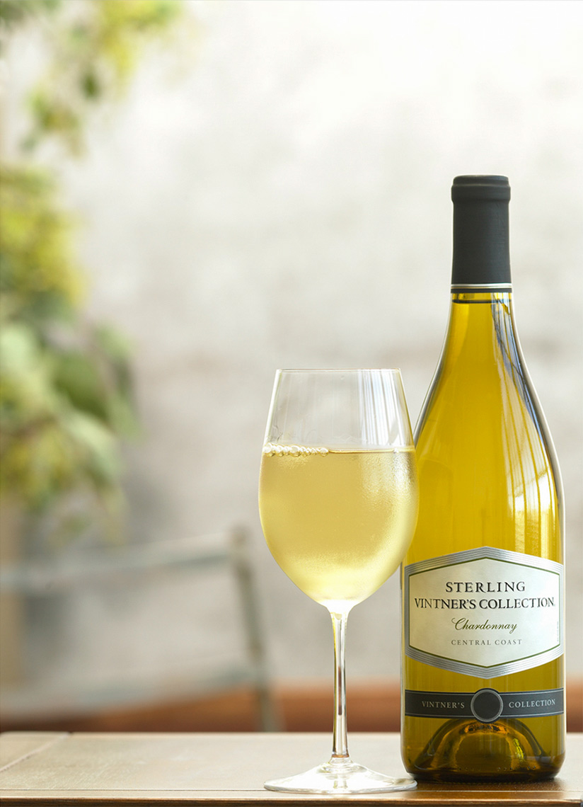 Sterling White Wine | Wine Photographer, Marshall Gordon