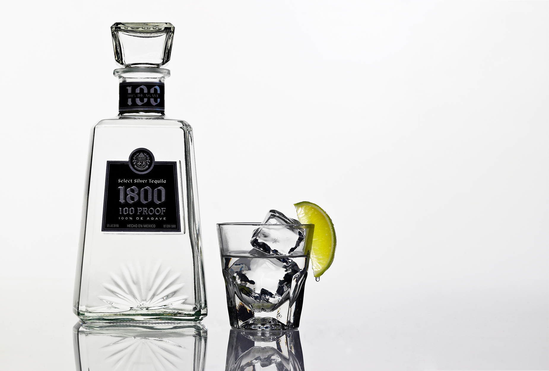 1800 Silver Select Tequila | Beverage Photographer, Marshall Gordon