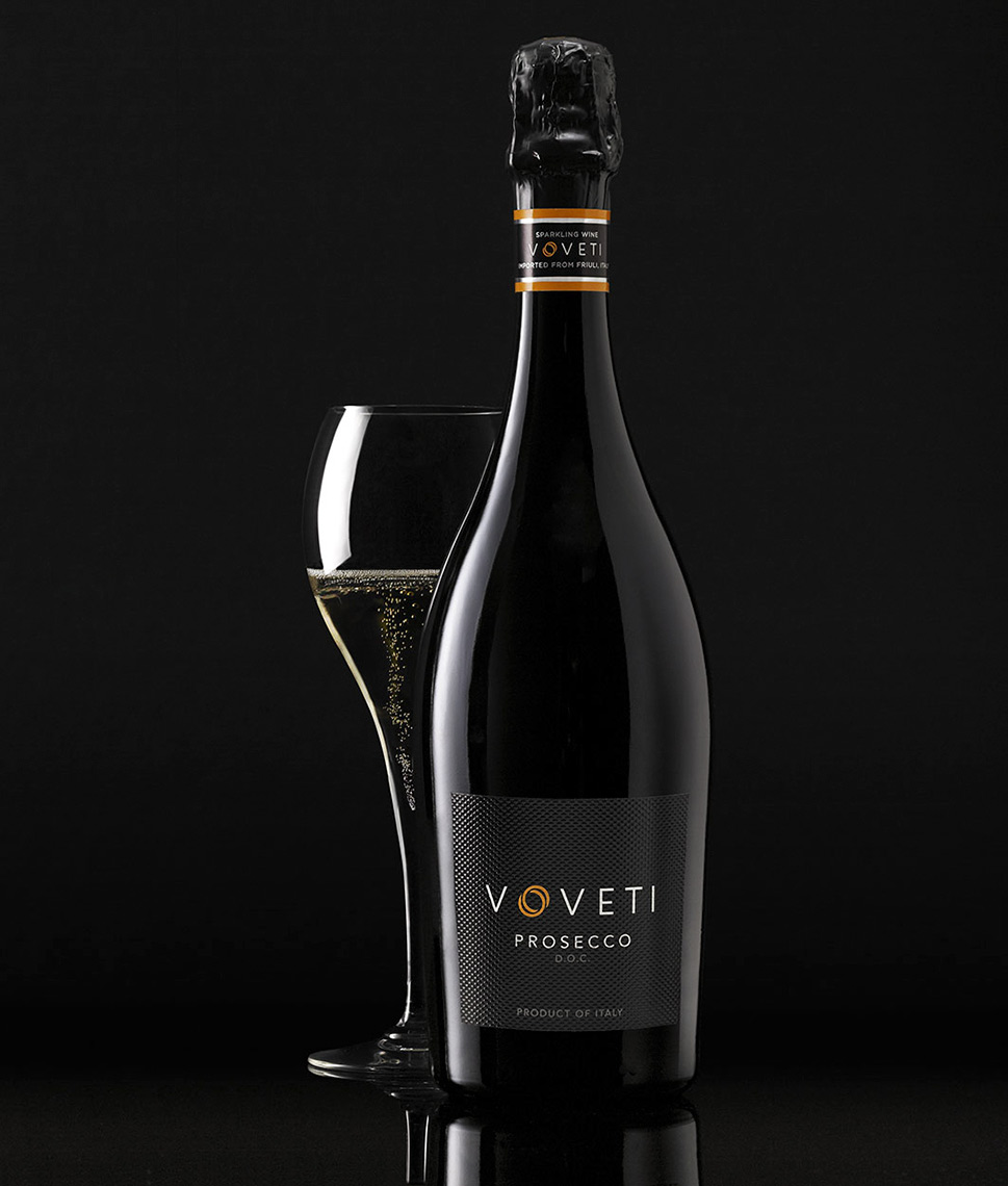 Voveti Prosecco | Wine Photographer, Marshall Gordon
